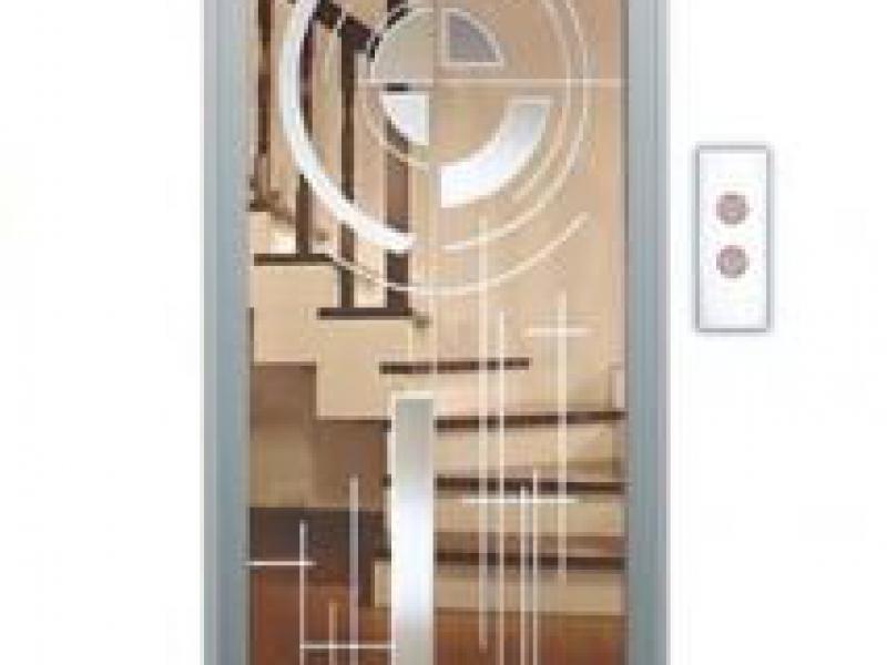 Cửa tầng thang máy Phong thuỷ Lựa chọn SVE-LD05