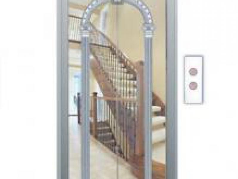 Cửa tầng thang máy Phong thuỷ Lựa chọn SVE-LD09