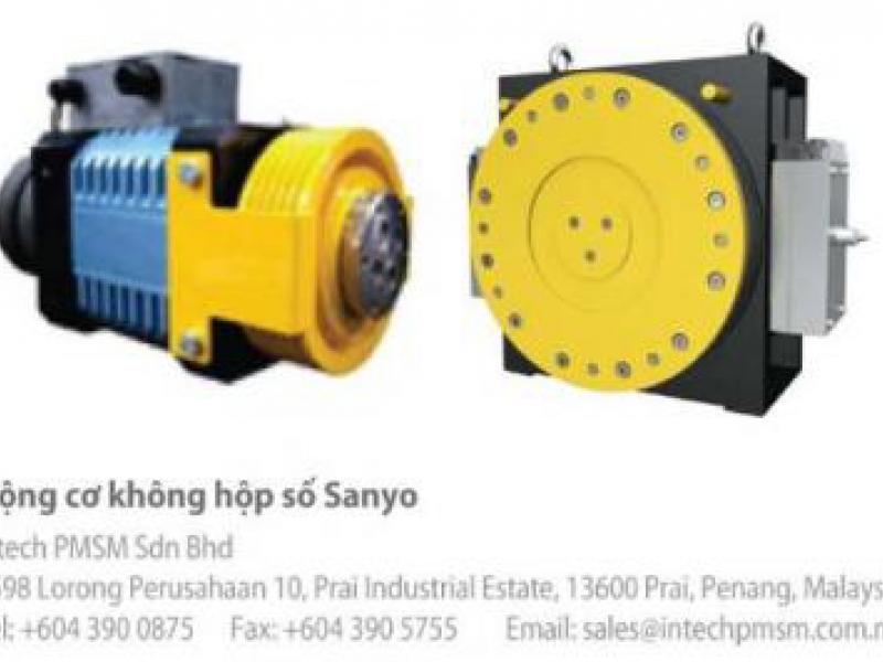 Động cơ thang máy SANYO